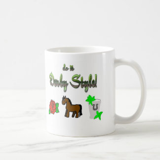 do it Derby Style! Classic White Coffee Mug