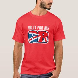 DO IT FOR ME GB union jack t-shirt