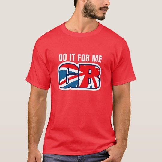 DO IT FOR ME GB union jack t-shirt
