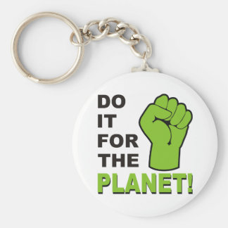 Do It For The Planet Keychains