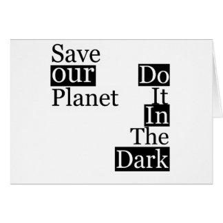 Do it in the Dark Card