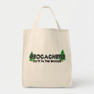 Do It In the Woods! Grocery Tote Bag