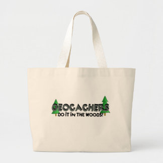 Do It In The Woods! Jumbo Tote Bag