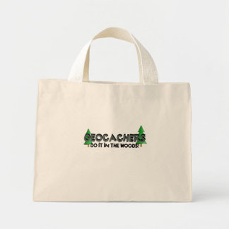 Do It In The Woods! Mini Tote Bag