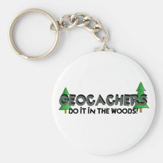 Do It In The Woods! Keychain