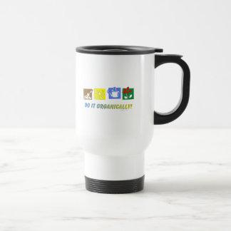 Do It Organically Travel Mug