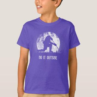 Do It Outside (Hockey) T-Shirt