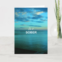 Do It Sober Card