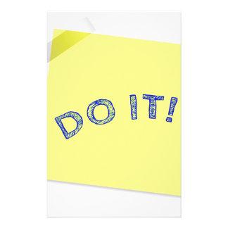 Do it! stationery