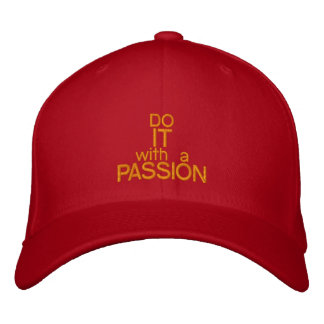 DO IT WITH A PASSION - Customizable Baseball Cap