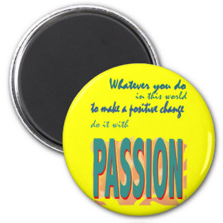 Do It with Passion Magnet