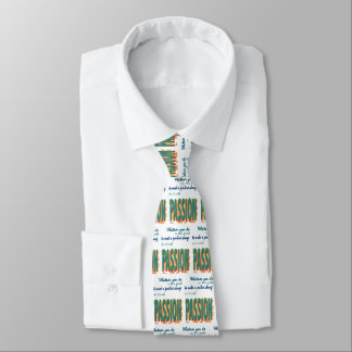 Do It with Passion Tie