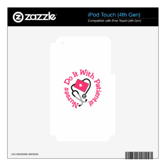 Do It With Patients! iPod Touch 4G Skin