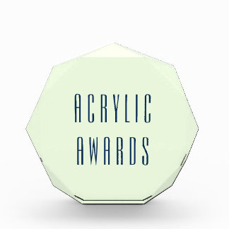 """Do It Yourself- Award Octagonal 6.5""""x6"""" / 1"""" thick"""