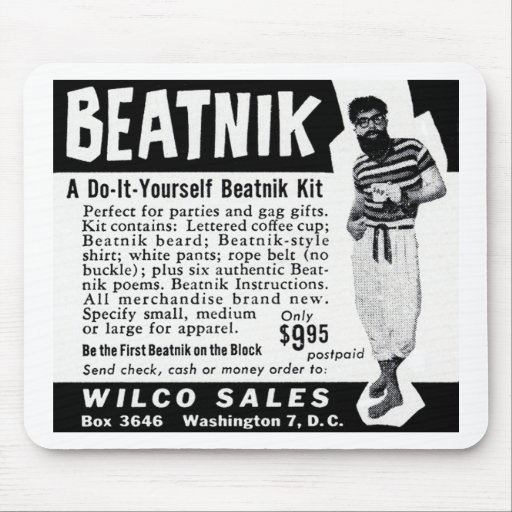 Do It Yourself Beatnik Kit Mouse Pads