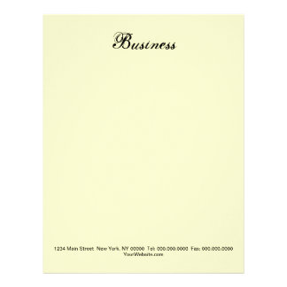 DO IT YOURSELF ~ Business Letterhead / Stationary