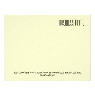DO IT YOURSELF ~ Business / Stationary Letterhead