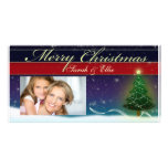Do it yourself Christmas Card Photo template Photo Cards