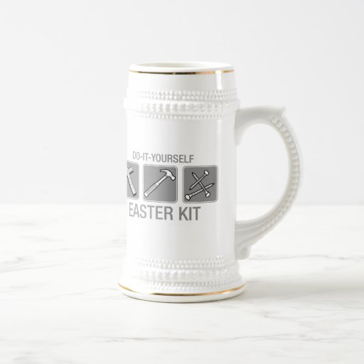 do it yourself easter kit coffee mugs