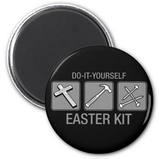 do it yourself easter kit fridge magnets