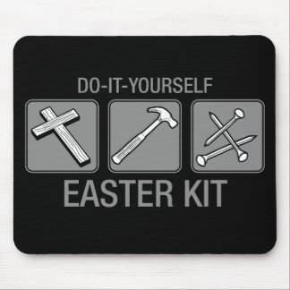 do it yourself easter kit mouse pad