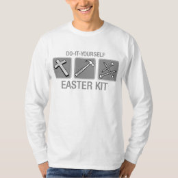 Atheist easter t shirts shirt designs zazzle do it yourself easter kit t shirt solutioingenieria Choice Image