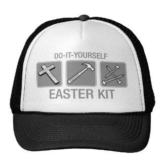 do it yourself easter kit trucker hat