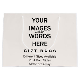Mom birthday gift bags zazzle do it yourself gift bags large solutioingenieria Choice Image