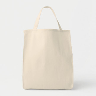 DO IT YOURSELF ~ Grocery Tote Bag White