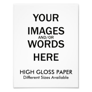 Do It Yourself - HIGH GLOSS Print