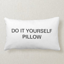 "DO IT YOURSELF ~ Lumbar 13"" x 21"" Lumbar Pillow"