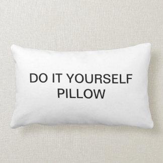 """DO IT YOURSELF ~ Lumbar 13"""" x 21"""" Throw Pillow"""