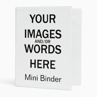 Do It Yourself - Mini Binder