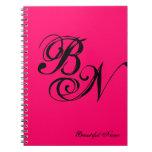 Do It Yourself Monogram ~ Notebook / 6.5x8.75