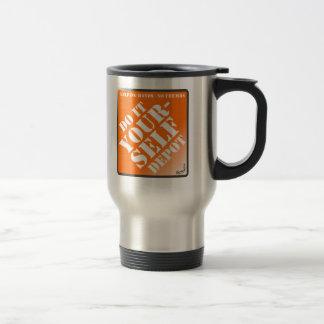 Do It Yourself 15 Oz Stainless Steel Travel Mug