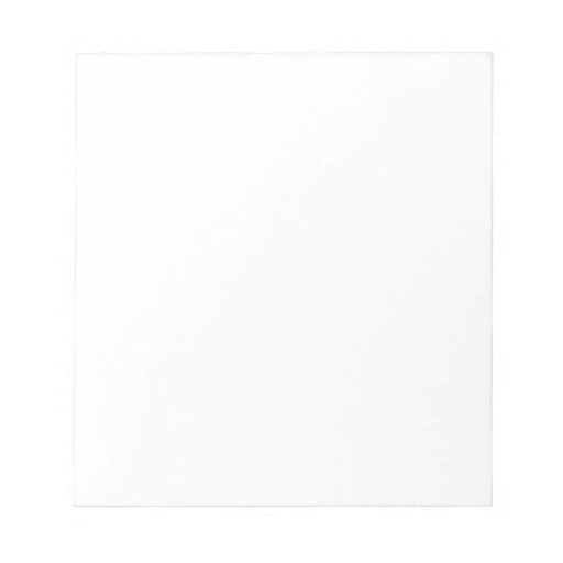 Do It Yourself Note Pad Scratch Pad