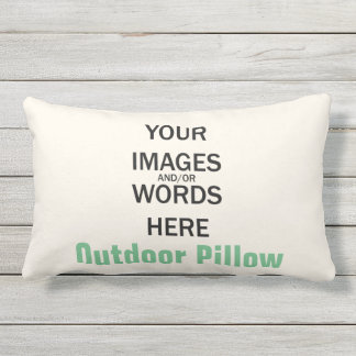 Do It Yourself - Outdoor Pillow