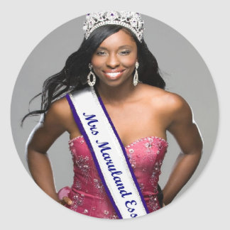 Do-It-Yourself Pageant Crown Shot Stickers
