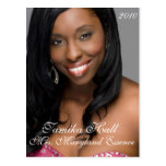 Do-It-Yourself Pageant Headshot | Autograph Card