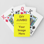 Do It Yourself ~ Playing Cards JUMBO Bicycle Playing Cards