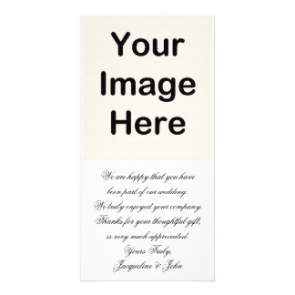 DO IT YOURSELF ~ Wedding Thank You Card