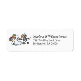Do It Yourself Weddings Invite Envelopes Label