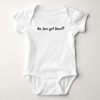 Do Jew got Seoul? Baby Bodysuit