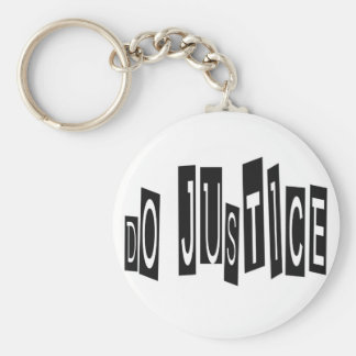 Do Justice Keychain