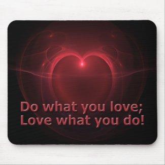 Do & Love mousepad