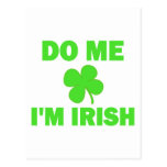 Do Me I'm irish Postcard