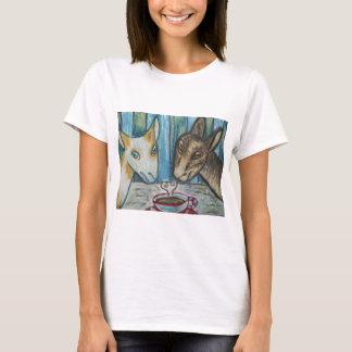 Do Nigerian Dwarf Goats Have Coffee? T-Shirt