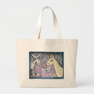 Do Nigerian Dwarf Goats Have Martinis? Tote Bag