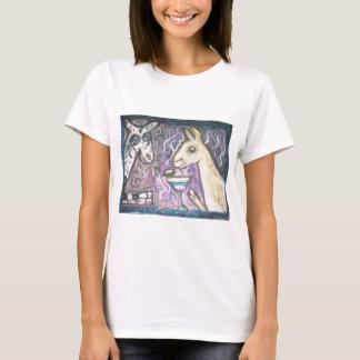 Do Nigerian Dwarf Goats Have Martinis? T-Shirt