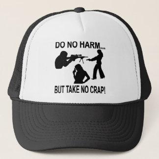 Do No Harm But Take No Crap Trucker Hat